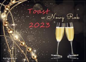 Toast w Nowy Rok 2021