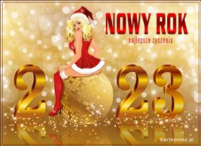 eKartki Nowy Rok Złoty Nowy Rok,