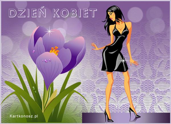 Kartka na Dzień Kobiet