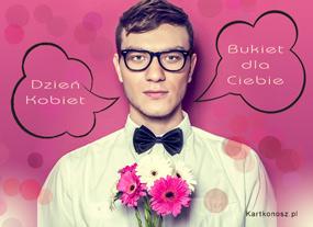 eKartki Z okazji Dnia Bukiet na Dzień Kobiet,