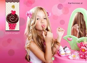 eKartki Z okazji Dnia Dla małej kobietki,