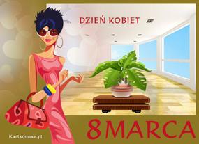 eKartki Z okazji Dnia e-Kartka na Dzień Kobiet,