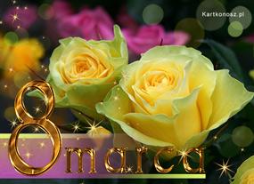 eKartki Z okazji Dnia Kartka z różami,
