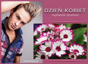 eKartki Z okazji Dnia Kwiatuszki na Dzień Kobiet,