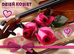 eKartki Z okazji Dnia Melodia Dnia Kobiet,