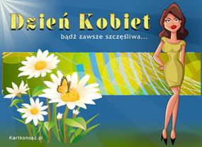eKartki Z okazji Dnia Miłego Dnia Kobiet,