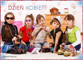 eKartki Z okazji Dnia Wielkie święto małych kobiet,
