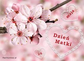 eKartki Z okazji Dnia 26 maja Dzień Matki,
