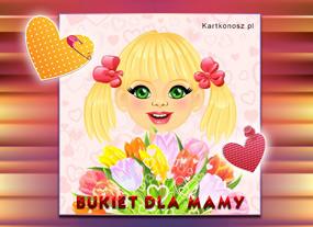 eKartki Z okazji Dnia Bukiet dla Mamy,