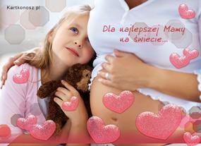 eKartki Z okazji Dnia Dla najlepszej Mamy,