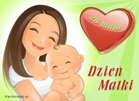 eKartki Z okazji Dnia Kochającej Mamie,