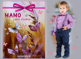 e Kartki  z tagiem: Darmowe kartki na Dzień Mamy Motylki dla Mamy,