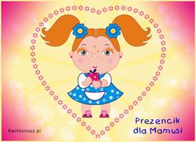 eKartki Z okazji Dnia Prezencik dla Mamusi,