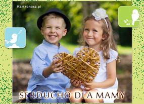 eKartki Z okazji Dnia Serducho dla Mamy,