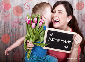 eKartki Z okazji Dnia Tulipany dla Mamy,