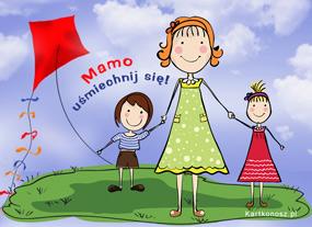 eKartki Z okazji Dnia Uśmiechnij się Mamo,