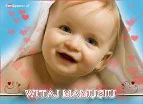 eKartki Z okazji Dnia Witaj Mamusiu,