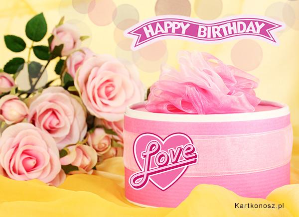 Różowe życzenia