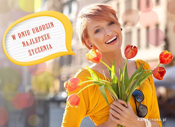 Urodzinowe tulipany