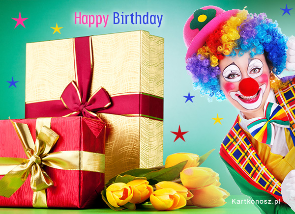 Wesołe urodzinki