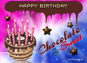 Czekoladowe urodziny