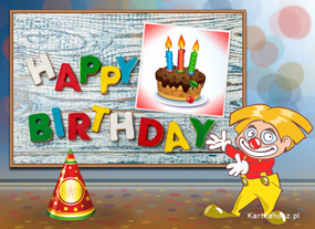e Kartki  Happy Birthday,
