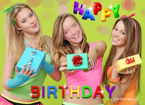 eKartki Z okazji Dnia Młodzieżowe urodziny,