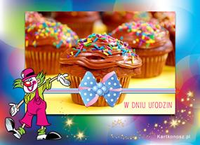 Muffinki na urodziny