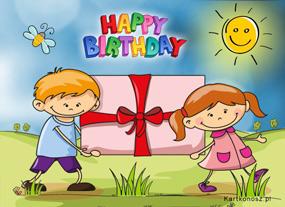 eKartki Z okazji Dnia Prezent na urodziny,