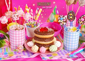 eKartki Z okazji Dnia Przyjęcie urodzinowe,