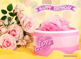 eKartki Z okazji Dnia Różowe życzenia,