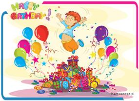 eKartki Z okazji Dnia Szalone urodziny,