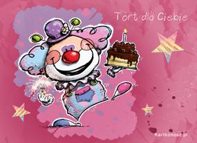 eKartki Z okazji Dnia Tort dla Ciebie,