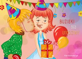 Urodzinowe buziaki