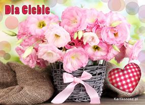 eKartki Z okazji Dnia Urodzinowe kwiaty,