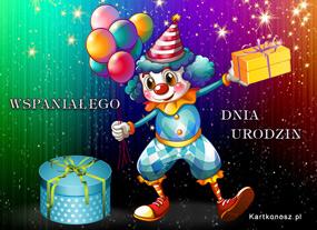 eKartki Z okazji Dnia Urodzinowy występ,