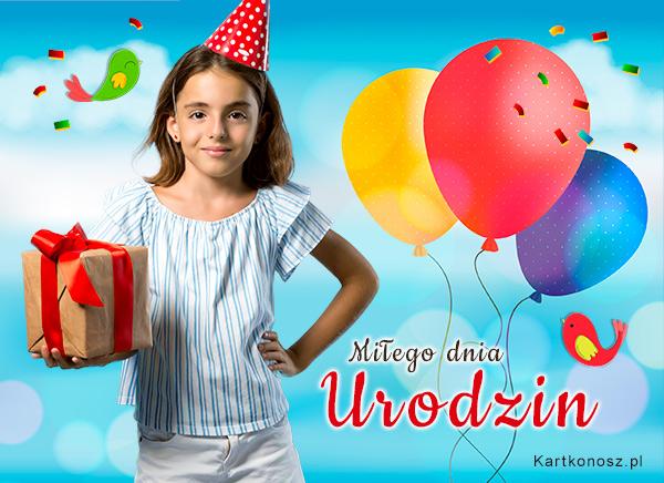 Urodzinowe pozdrowienia!