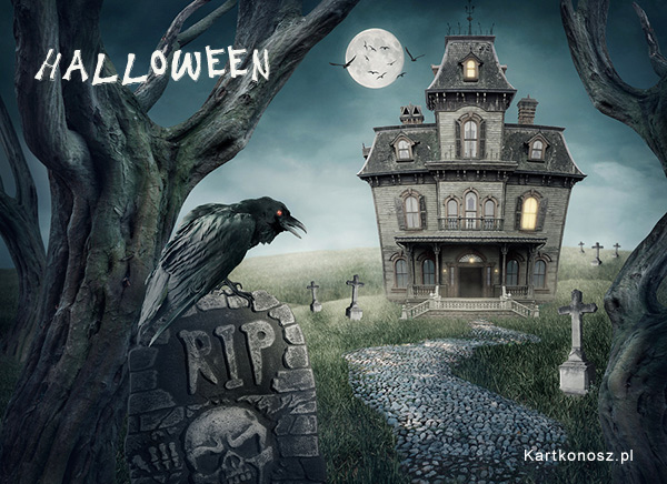 Kartka Halloween