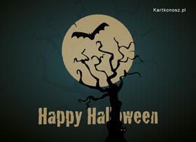 eKartki Halloween Ciemności w Halloween,