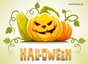 eKartki Halloween Dynia w Halloween,