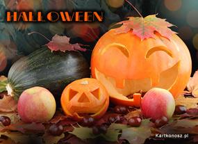 eKartki Halloween Dynie z Halloween,