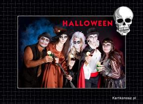 e Kartki Halloween Fotka z Halloween,