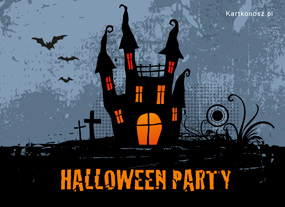 e Kartki  Halloween Party,