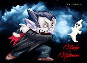 e Kartki  z tagiem: Halloween e-kartki Hrabia Dracula,