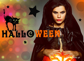 e Kartki  z tagiem: Darmowe kartki na Halloween Kartka na Halloween,
