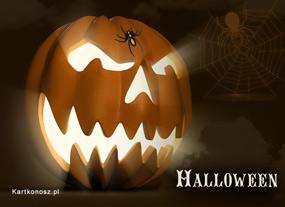 eKartki Halloween Koszmarna dynia,