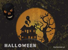 eKartki Halloween Mroczny dom,