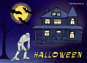 eKartki Halloween Mumia,