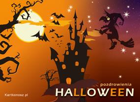 eKartki Halloween Nadciąga wiedźma,