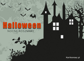 eKartki Halloween Nocne koszmary,